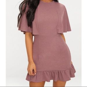 Brand new prettylittlething Mauve Dress NWT